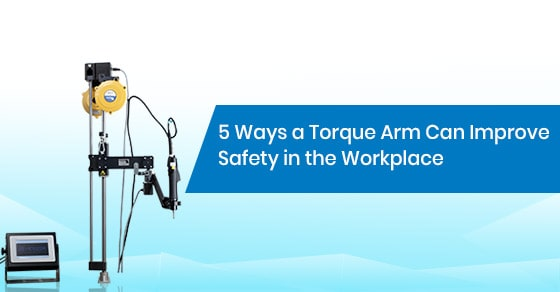 How does a Torque Arm improve safety in the workplace?