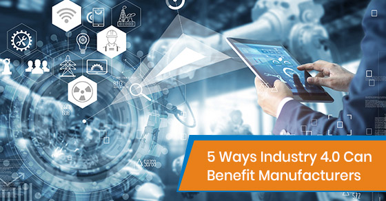 How can Industry 4.0 benefit manufacturers?