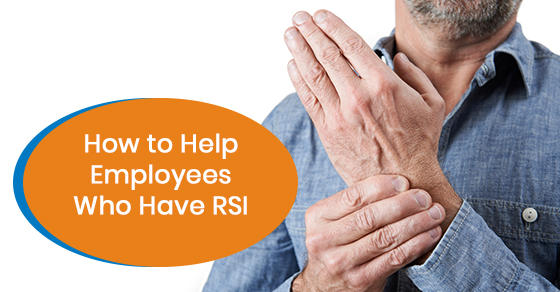 How to deal with RSI at the workplace?