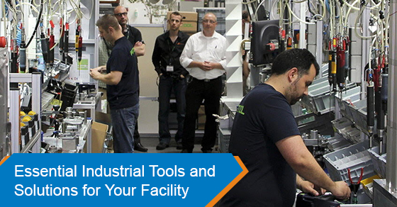 Essential Industrial Tools and Solutions for Your Facility