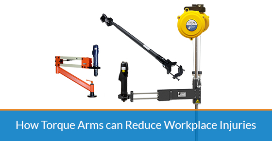 How torque arms can reduce workplace injuries